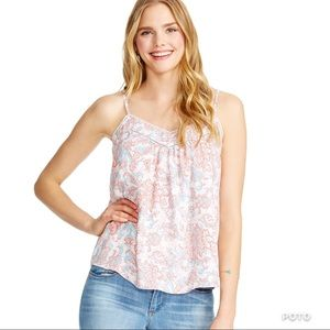 JESSICA SIMPSON - Paisley cami Top Small